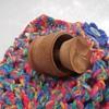 Swedish Primitive Cookie Press. Presses Design Into Dough!  Antique, Belonger to my Mother or Grandmother