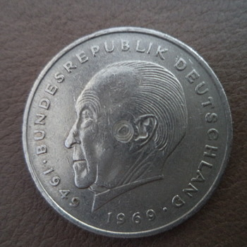 Germany Commemorative Issue 1949 - 1969 - World Coins