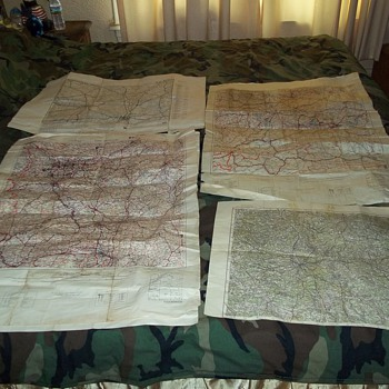 WWII MAPS  - Military and Wartime