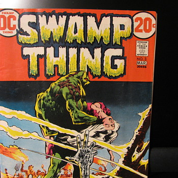 Swamp Thing  #s  3,4,&amp;7