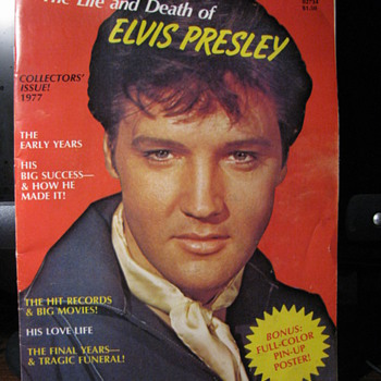 The Life and Death of Elvis Presley - Music Memorabilia