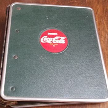 5 ring binder - Ant information? - Coca-Cola