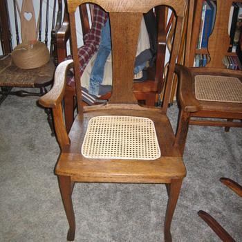 Large Oak armchair