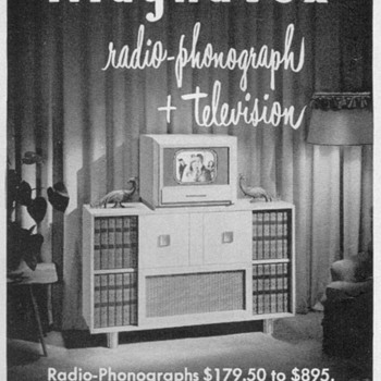1948 - Magnavox Advertisement