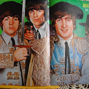 16 Magazine Beatles ole' Poster - Music