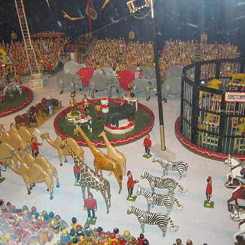 The Kirk Bros. Wooden Carved Circus at the Shelburne Museum - Folk Art