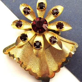 Brooch With Simulated Rubies, Who Made Me?