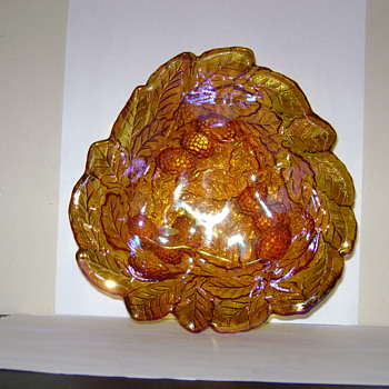 Marigold Glass Bowl