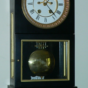 Regulator style clock I made case for - Clocks