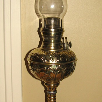 Plume & Atwood Royal Banquet Oil Lamp