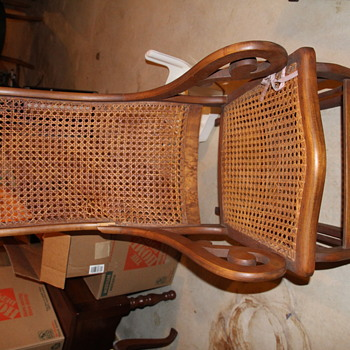 Rattan Rocker - Furniture