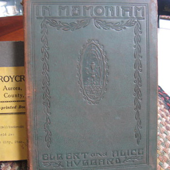 In Memoriam of Elbert & Alice Hubbard ...Roycroft Press,.. 1915