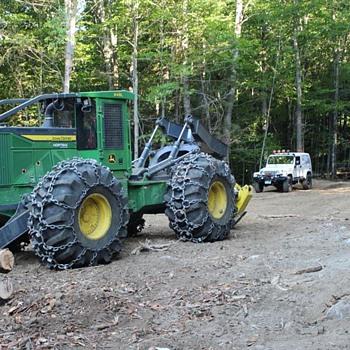 Jeep Vs Skidder..lol