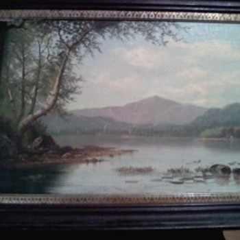 W.M.Snyder canvas oil painting