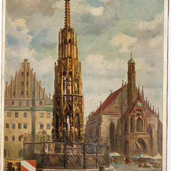 Hard To Find German Postcard 1935