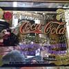 Coca cola mirror with original frame in good condition
