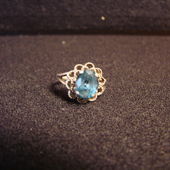 VINTAGE TOPAZ RING - Fine Jewelry