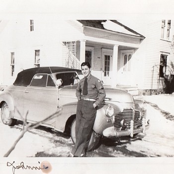 My Dad and His Early Chevrolet Convertible