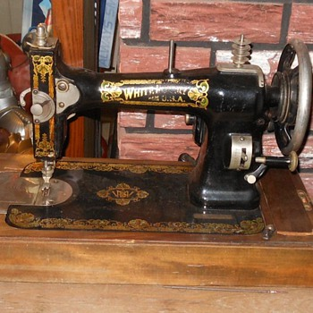 White Sewing Machine circa 1913. - Sewing