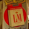 L &amp; M Cigarettes...Embossed Tin Sign