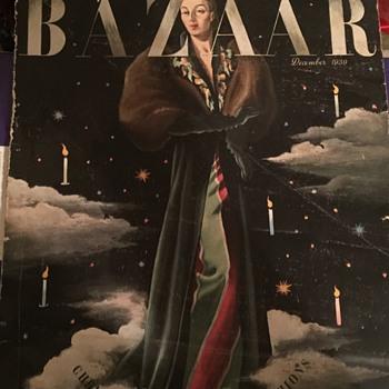 1939 Harpers Bazaar magazine