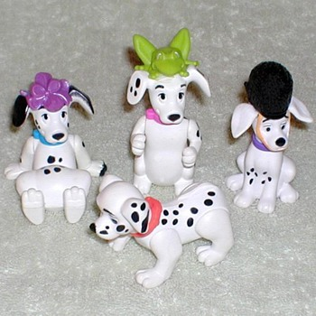 "1996 - ""101 Dalmatians"" Promotional Toys"