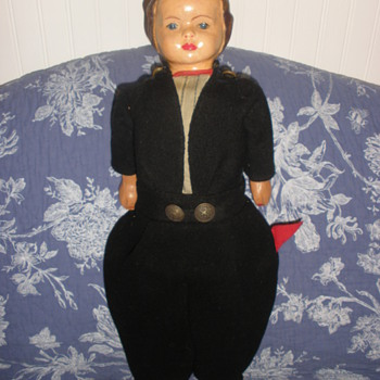 dutch boy wooden - Dolls