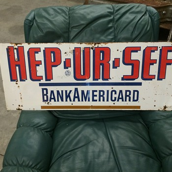 HEP UR SEF gas station sign