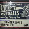 Headlight overalls sign