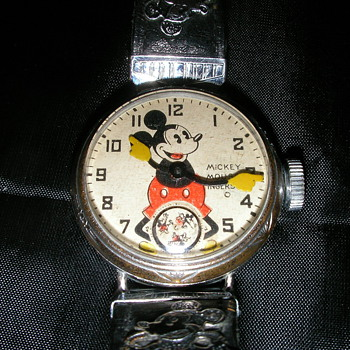 1933 Mickey Mouse Wrist Watch - Wristwatches