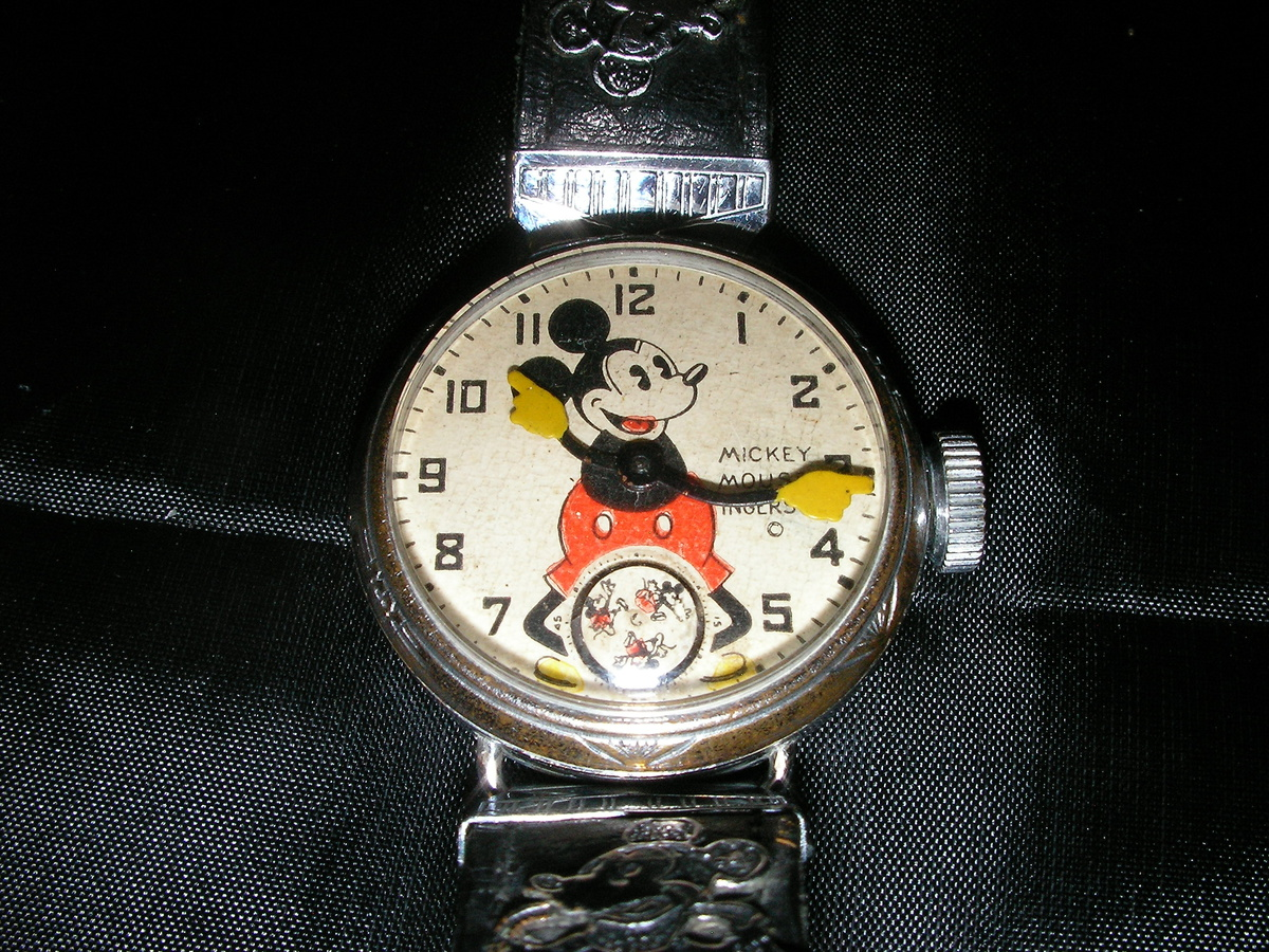 1933 mickey mouse wrist collectors weekly
