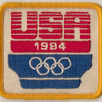 1984 - USA Olympic Patch - Outdoor Sports