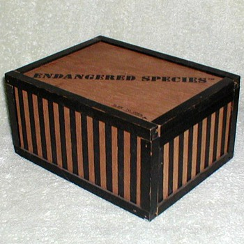 1970's - Wooden Gift Box - Chocolates??