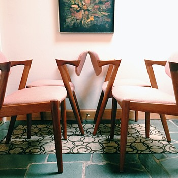 FOUND - 4 Kai Kristiansen No. 42 Chairs