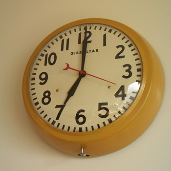 Gibraltar Kitchen Clock