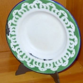 Enamelware Dish, Inherited