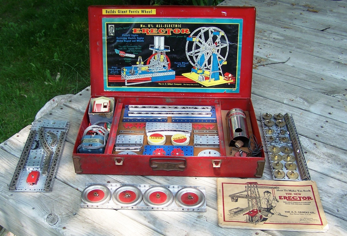 Late 1940s A C Gilbert 8 1 2 Erector Set Collectors Weekly