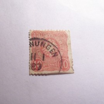 Old Stamp - Stamps