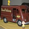 Original 1954 Tonka Toys Parcel Delivery Number 750-4 Metro Van