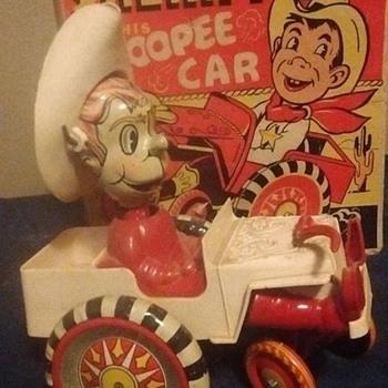 Marx Sheriff Sam Windup Toy  - Toys