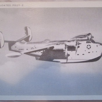 Old postcards of military planes - Postcards