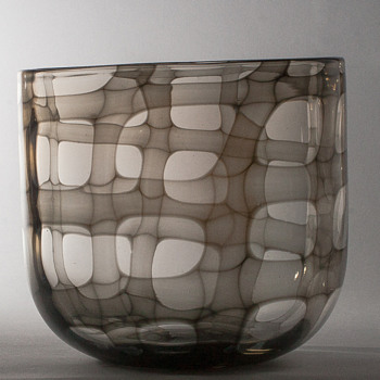 skeleton vase - Art Glass