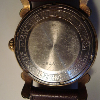 Old Bulova watch id?