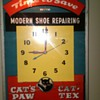 Lighted Shoe Repair Clock