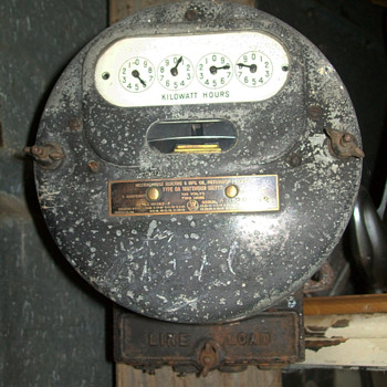 1914 electric meter - Tools and Hardware