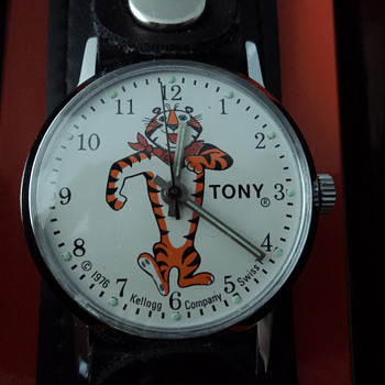 "Kellogg's premium ""Tony The Tiger"" - Wristwatches"