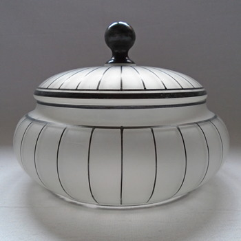Art Deco Powder Bowl/Trinket Box