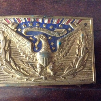 Early 1900 belt buckle