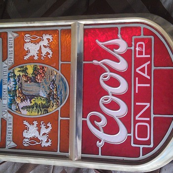 Vintage Coors Beer Light Up Sign