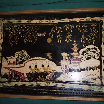 Serving Tray - Asian